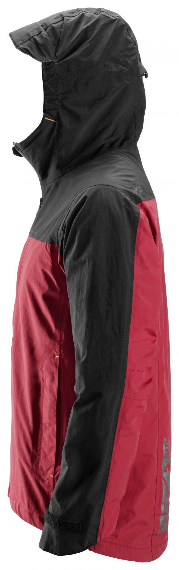 Snickers 1303 Vedenpitävä kuoritakki   Chili red\Black - 1604   V-liftverkkokauppa.fi