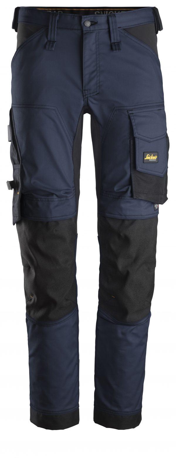 Snickers Stretchbyxa | Navy\Black - 9504 | V-liftverkkokauppa.fi