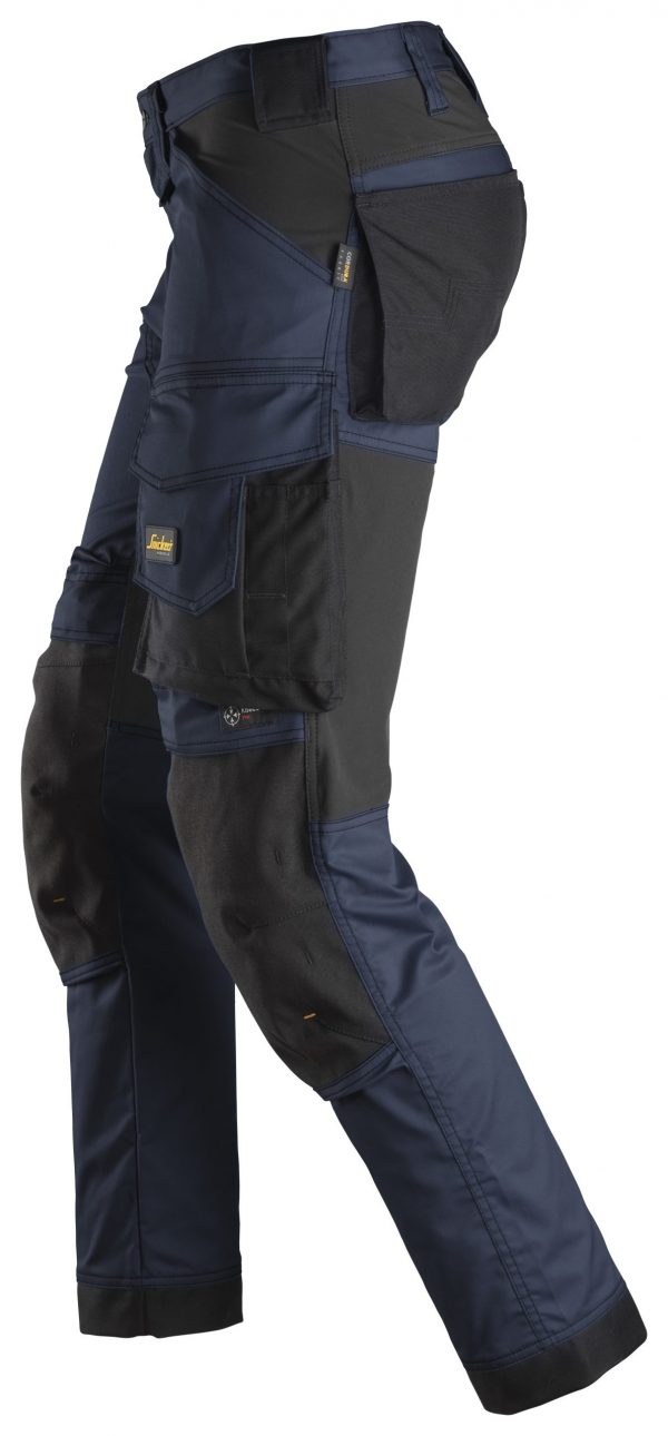 Snickers 6341 Stretch-housut | Navy\Black - 9504 | V-liftverkkokauppa.fi